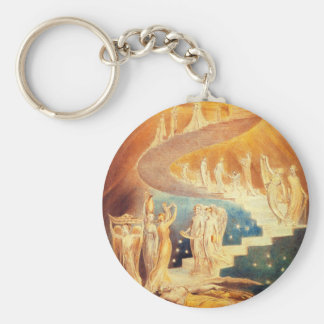 William Blake Jacob's Ladder Key Chain