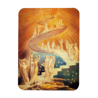 William Blake Jacob's Ladder Magnet