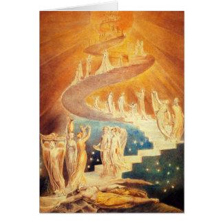 William Blake Jacob's Ladder Note Card