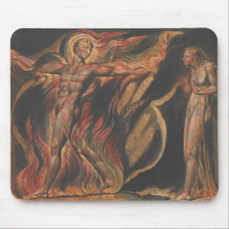 William Blake - Jerusalem, Plate 26, Such Visions Mouse Pad