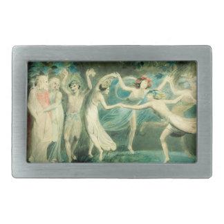 William Blake Midsummer Night's Dream Belt Buckle