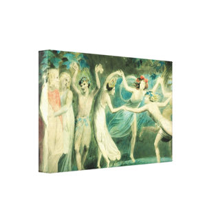 William Blake Midsummer Night's Dream Canvas Print