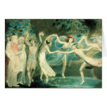William Blake Midsummer Night's Dream Card