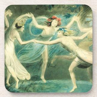 William Blake Midsummer Night's Dream Coasters