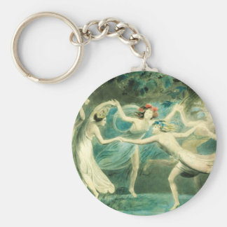 William Blake Midsummer Night's Dream Key Chain