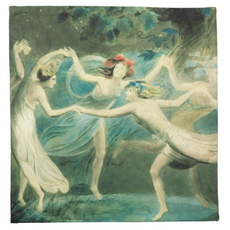 William Blake Midsummer Night's Dream Napkins