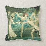 William Blake Midsummer Night's Dream Pillow