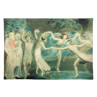 William Blake Midsummer Night's Dream Placemat Cloth Placemat