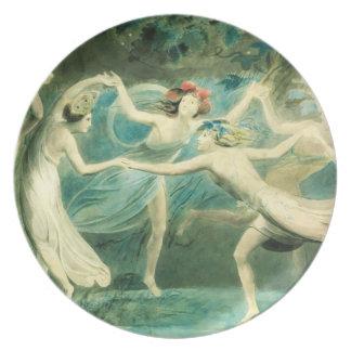 William Blake Midsummer Night's Dream Plate