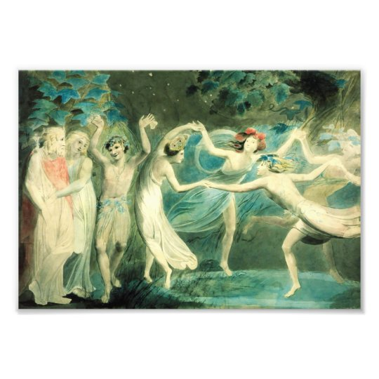 William Blake Midsummer Night's Dream Print