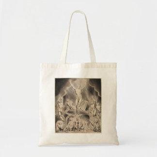 William Blake: Milton`s Paradise Lost Tote Bags
