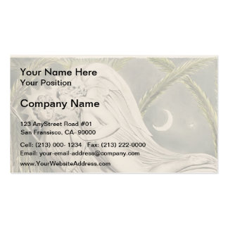 William Blake: Milton`s Paradise Lost Business Card Template
