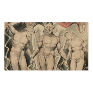 William Blake: Milton`s Paradise Lost Business Cards