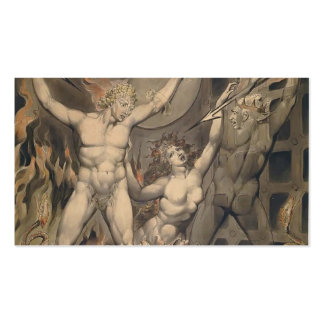 William Blake: Milton`s Paradise Lost Business Card Templates