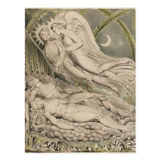 William Blake Milton`s Paradise Lost Postcards