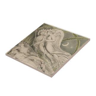 William Blake: Milton`s Paradise Lost Tiles