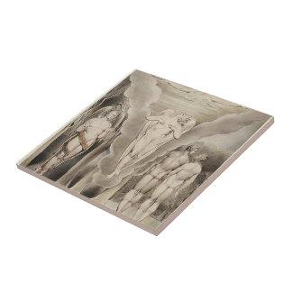 William Blake: Milton`s Paradise Lost Ceramic Tile