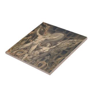 William Blake: Milton`s Paradise Lost Tile