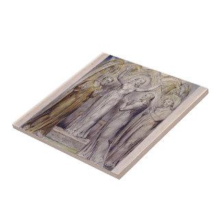 William Blake: Milton`s Paradise Regained Ceramic Tiles