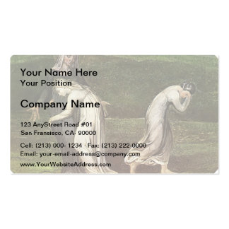 William Blake: Naomi entreating Ruth and Orpah Business Card
