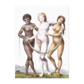 William Blake on Canvas Canvas Print