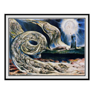 William Blake Poster Print Whirlwind of Lovers