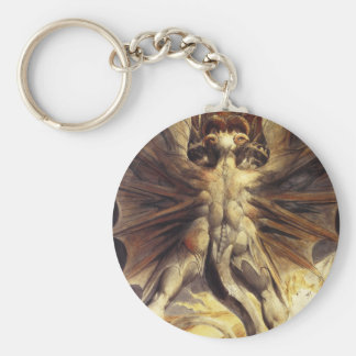William Blake Red Dragon Key Chain
