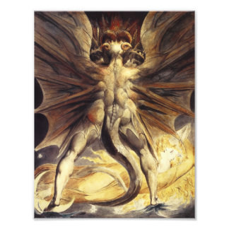 William Blake Red Dragon Print Photo Print