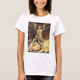 William Blake Red Dragon T-shirt
