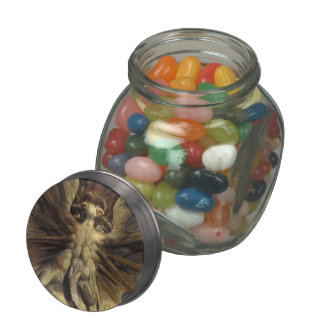 William Blake- Red Dragon & Woman Clothed with Sun Jelly Belly Candy Jar