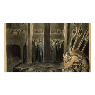 William Blake-Soldiers Casting Lots Business Card