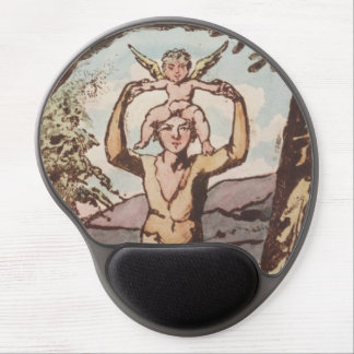 William Blake, Songs of Experience, Antique Print Gel Mouse Pad