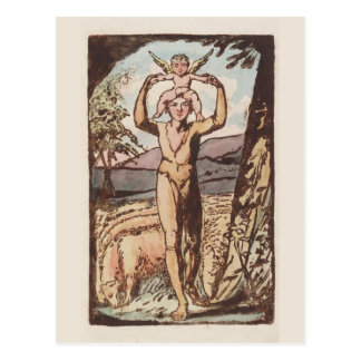 William Blake Songs of Experience Antique Print Postcards