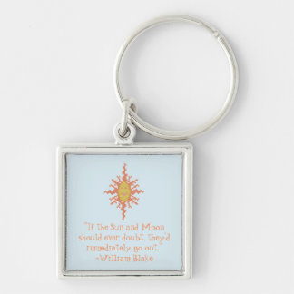 William Blake Sun and Moon Confidence Keychain