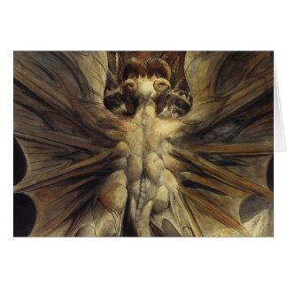 William Blake - The Great Red Dragon and the Woman Card