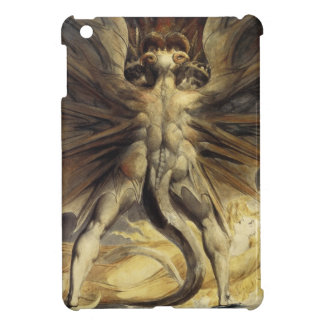 William Blake - The Great Red Dragon and the Woman iPad Mini Cover
