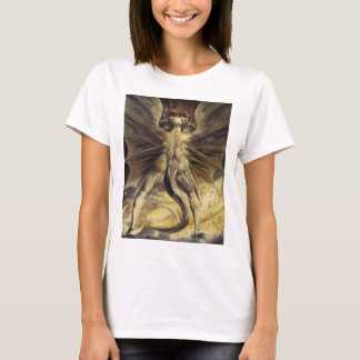William Blake - The Great Red Dragon and the Woman T-Shirt