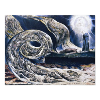 William Blake The Lovers Whirlwind Inivtations Card