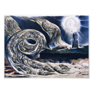 William Blake The Lovers Whirlwind Print