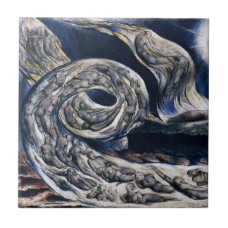William Blake The Lovers Whirlwind Tile