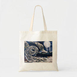 William Blake The Lovers Whirlwind Tote Bag