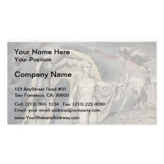 William Blake- The Shrine of Apollo Business Card Templates