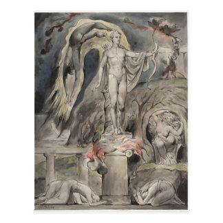 William Blake- The Shrine of Apollo Postcard
