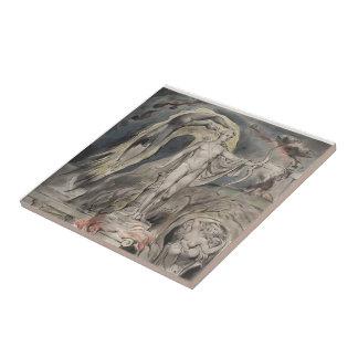 William Blake- The Shrine of Apollo Tile