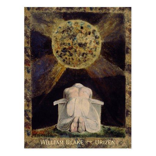 William Blake Urizen CC0486 Postcard