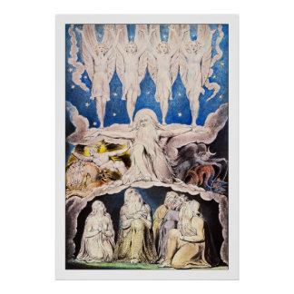 William Blake: When the Morning Stars Sang... Poster