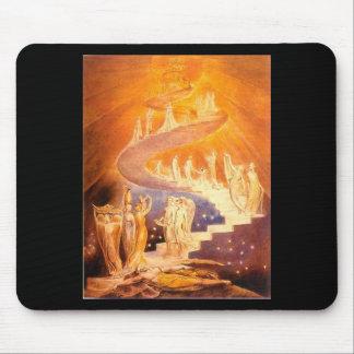 William Blake's Jacob's Ladder Mousepads