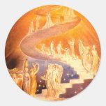 William Blake's Jacob's Ladder Stickers