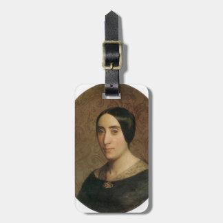 William Bouguereau- A Portrait of Amelina Dufaud Luggage Tag