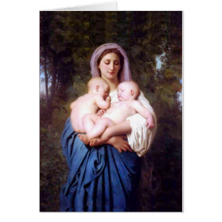 William Bouguereau_Charity(1878) Card